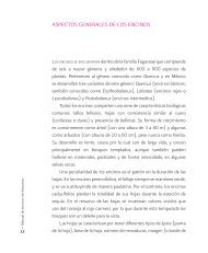 ASPECToS GENERALES DE LoS ENCINoS - Instituto Nacional de ...