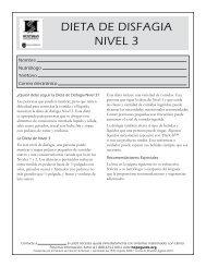 DiEta DE Disfagia NivEl 3 - Huntsman Cancer Institute