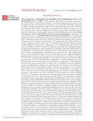 241105 JUEVES.indd - Fondo de Cultura Económica