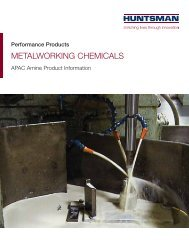 METALWORKING CHEMICALS
