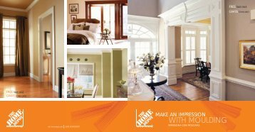 WITH MOULDING - Home Depot