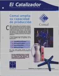 Ampliación planta Comai - Propilco