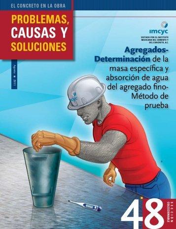 Determinación de la masa específica y absorción de agua del ...