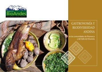 GASTRONOMíA Y BIODIVERSIDAD ANDINA - ETC Andes
