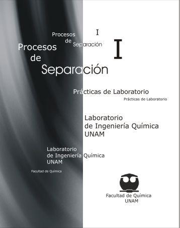 Procesos de Separación I - DePa - UNAM