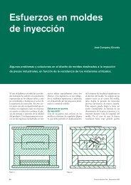 Esfuerzos en moldes de inyección - Técnica Industrial
