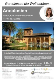 Andalusien - Schaffranek Kulmbach