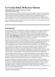 La Cocina Halal, 50 Recetas Selectas - Webislam