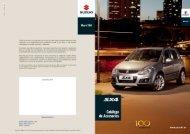 Catálogo Accesorios - Suzuki