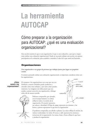 Auto-evaluación de capacidades - La herramienta AUTOCAP