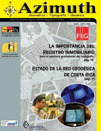 regularizacion - Colegio de Ingenieros Topografos de C.R.