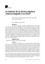 La historia de la úlcera péptica: ¿hemos llegado a su final?
