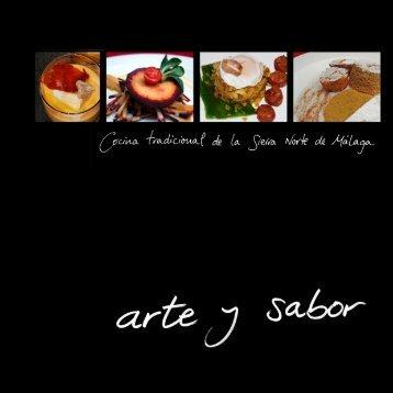 Arte y sabor. Cocina tradicional de la Sierra - Diputación de Málaga