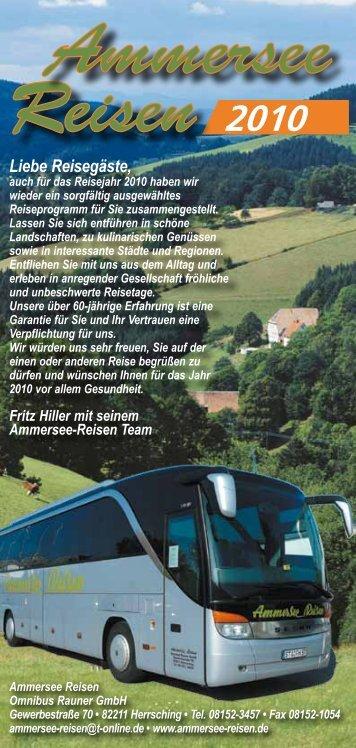 2010 - Ammersee-Reisen in Herrsching