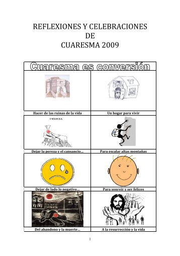 Cuaderno de Cuaresma - Somos Vicencianos