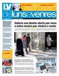 Galicia sae dunha alerta por neve e entra noutra por ... - Galiciaé