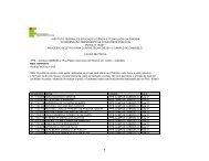 Data: 03/07/2011 LOCAIS DE PROVA INSTITUTO FEDERAL ... - IFPB