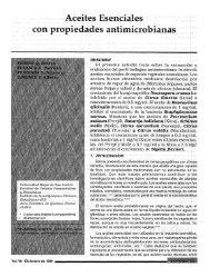 Aceites esenciales con propiedades antimicrobianas