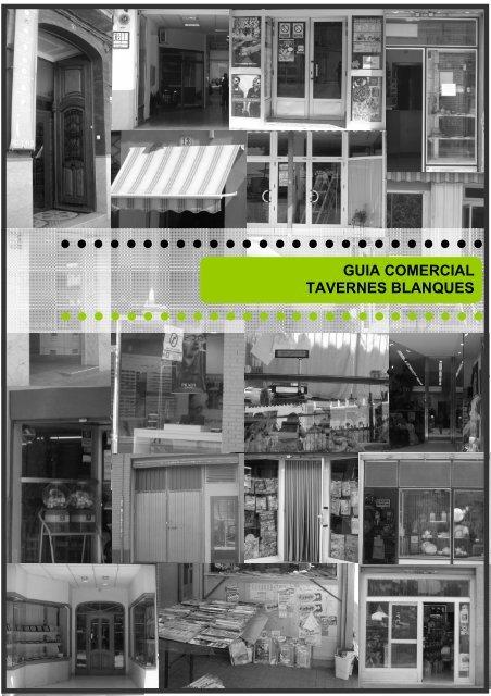FICHAS GUIA COMERCIAL - Tavernes Blanques