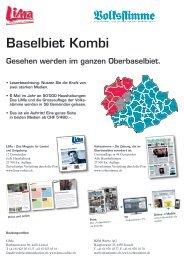 Mediadaten Baselbiet Kombi 2013 - Rieder Kommunikation
