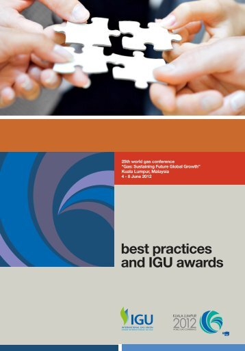 best practices and IGU awards - International Gas Union