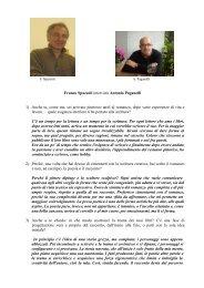 Lo scrittore Franco Spazzoli intervista Antonio Paganelli