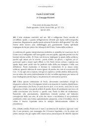 PAOLO SCRITTORE di Giuseppe Ricciotti Testo tratto da Giuseppe ...