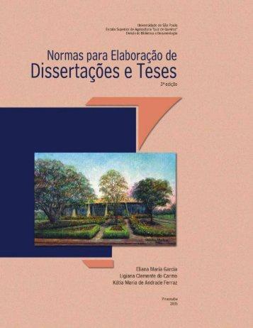 Normas de Teses 2006 - Esalq - USP