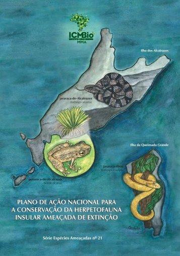 a Conservação da Herpetofauna Insular Ameaçada de ... - ICMBio