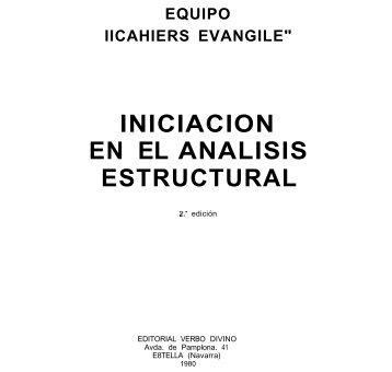 Iniciación en el análisis estructural - 10