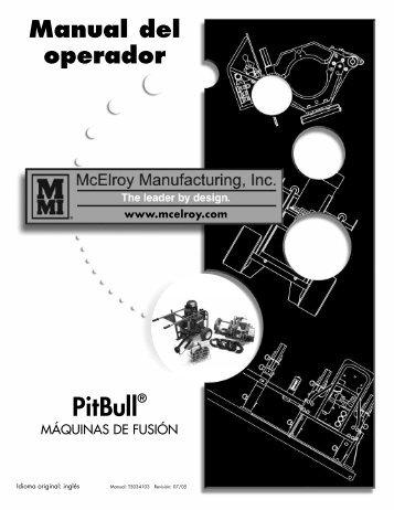 Funcionamiento - McElroy Manufacturing, Inc.