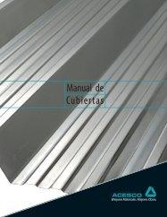 Manual de Cubiertas - Acesco