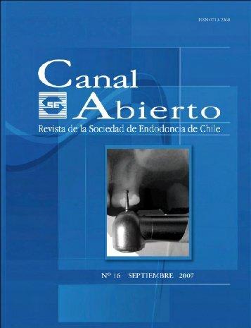 Estimados - Sociedad de Endodoncia De Chile
