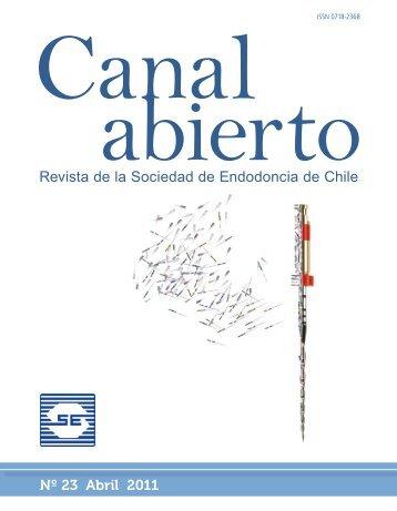 Revista de la Sociedad de Endodoncia de Chile Nº 23 Abril 2011
