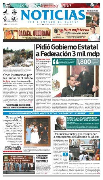2 - Noticias Voz e Imagen de Oaxaca