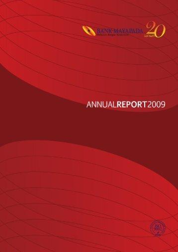 Annual Report 2009.pdf - Bank Mayapada
