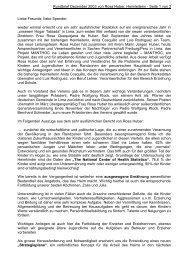 Rundbrief Dezember 2003 von Rosa Huber ... - Hogar de Tablada