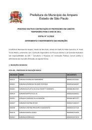 Edital de Deferimentos e Indeferimentos das Inscrições - Nº 11/2010