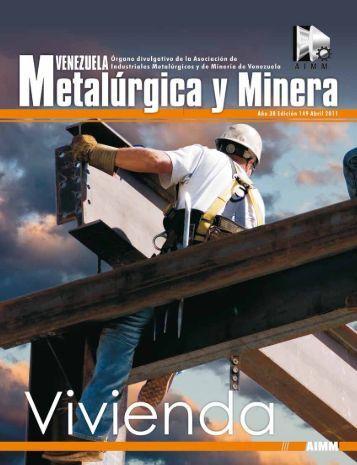 Revista Venezuela Metalúrgica y Minera - Edición 149 - Itmedia