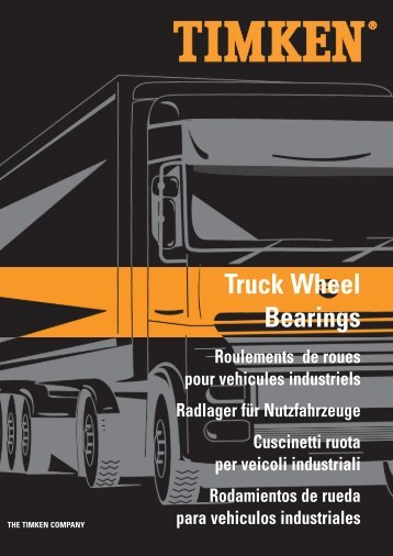 Truck Wheel Bearings - Prema