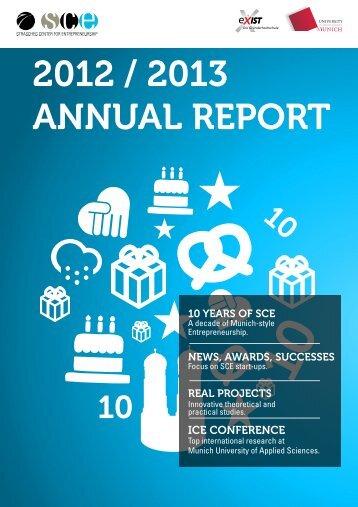 Annual Report 2012 / 2013
