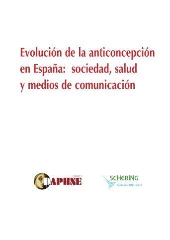 Evolución de la anticoncepción en España - Bayer Schering Pharma