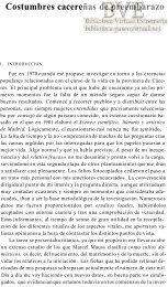 Costumbres cacereñas de preembarazo - Paseo Virtual por ...