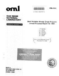 Short Rotation Woody Crops Program: annual progress report for 1986