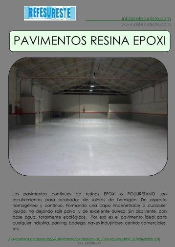 PAVIMENTOS RESINA EPOXI - refesureste