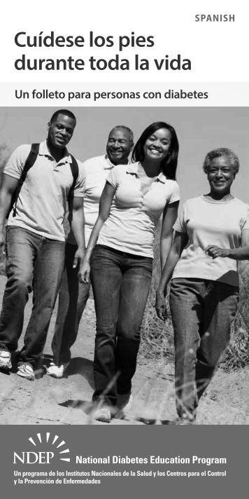 Cuidese los pies durante toda la vida - National Diabetes Education ...