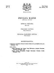 PENYATA RASMI - Parlimen Malaysia