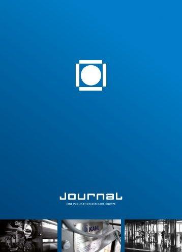 eine publikation der kahl gruppe - Amandus Kahl Group