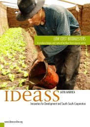 LOW COST BIODIGESTERS - ideass