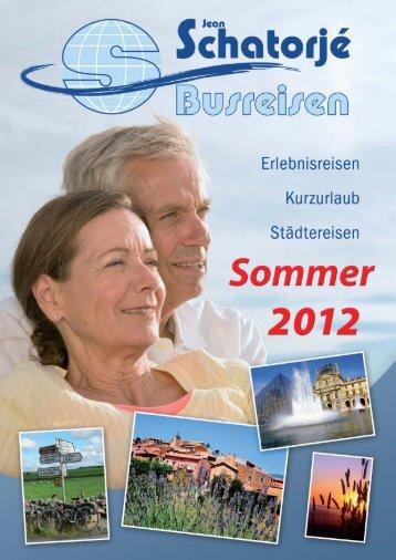 Schatorje Sommer 2012_Layout 1 - Reisebüro und Omnibusbetrieb ...